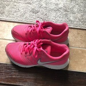 Hot Pink Nike Gym Shoes